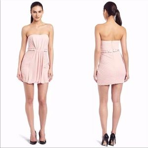 BCBGeneration Multi Pleated Cocktail/Party Dress